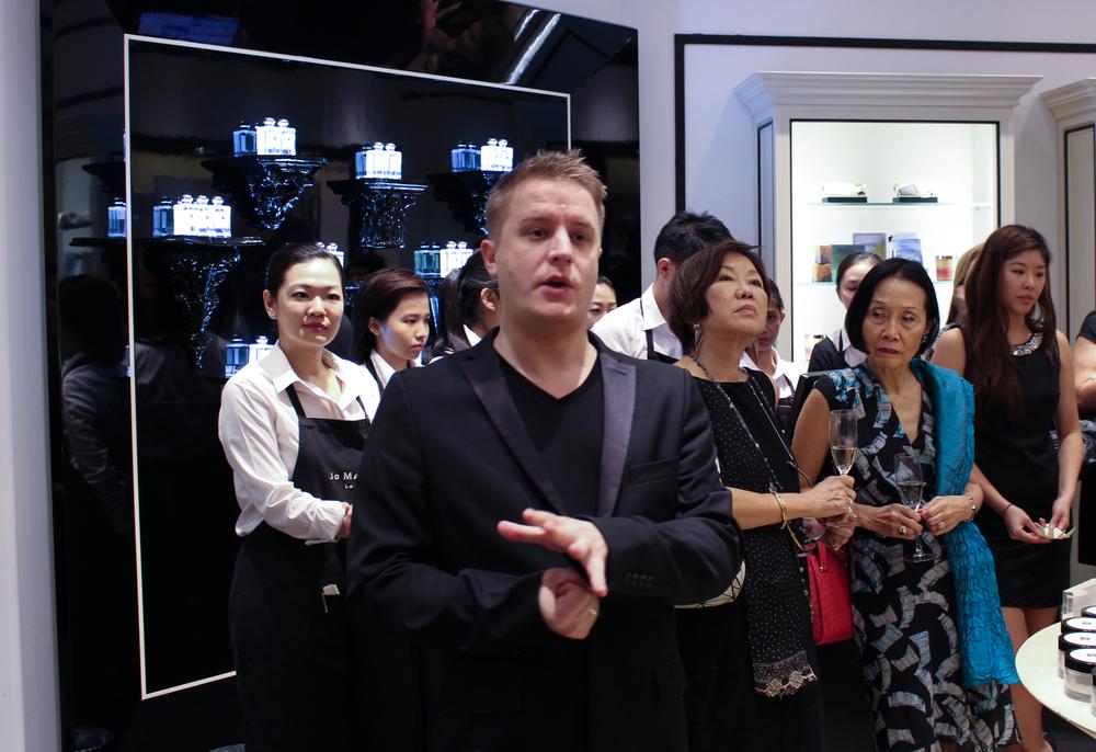 Jo Malone Fragrance Combining Masterclass Singapore - Chris Wyatt