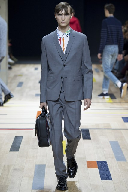 Dior Homme All-Over Print Shirt Menswear SS2015 Runway.jpg
