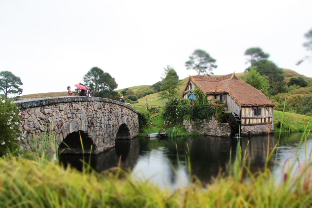 Hobbiton bridge