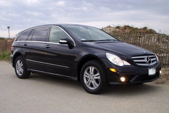 Luxury Mercedes 6 Seater in Black