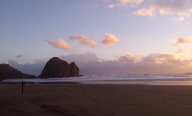 North Piha beach
