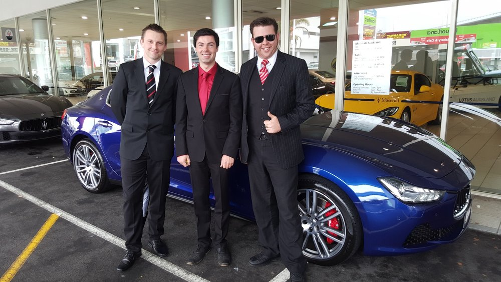 Ezy Driver Valet Team
