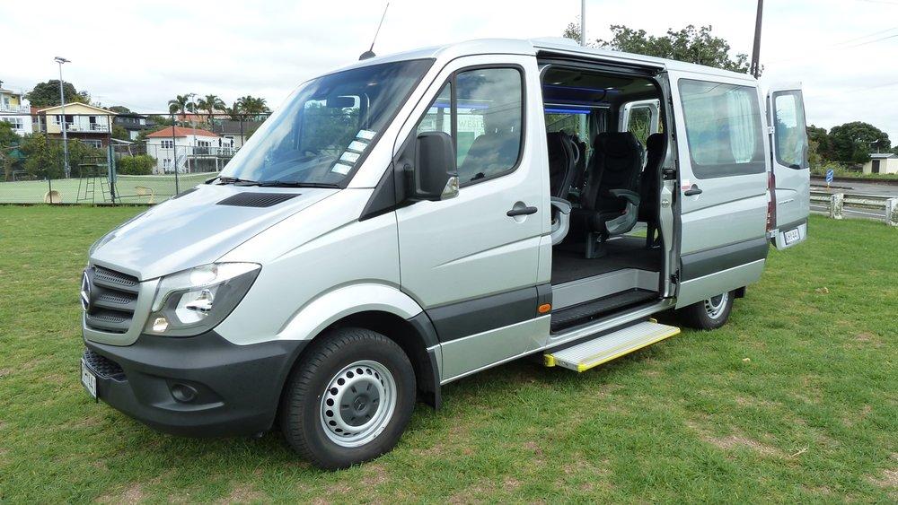 Copy of Mercedes Sprinter 8 Passenger Minivan