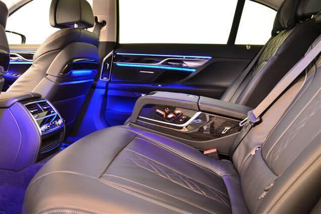 Copy of BMW 7 Series Interior