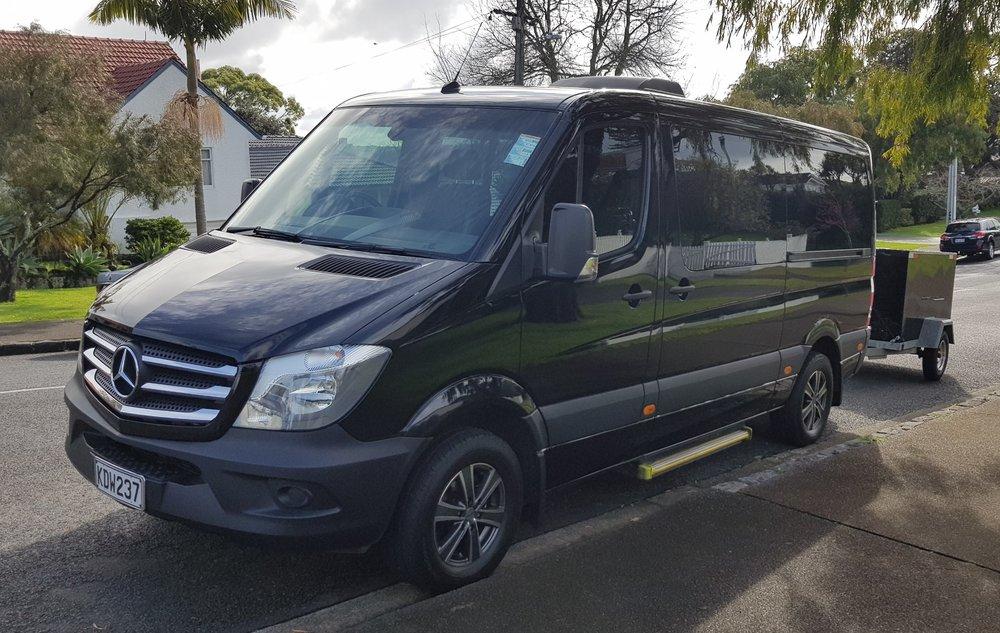Copy of Mercedes Sprinter 11 Passenger Minivan