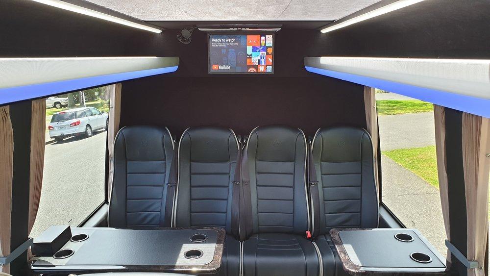 Copy of EVM Mercedes First Class 16 Passenger Minibus