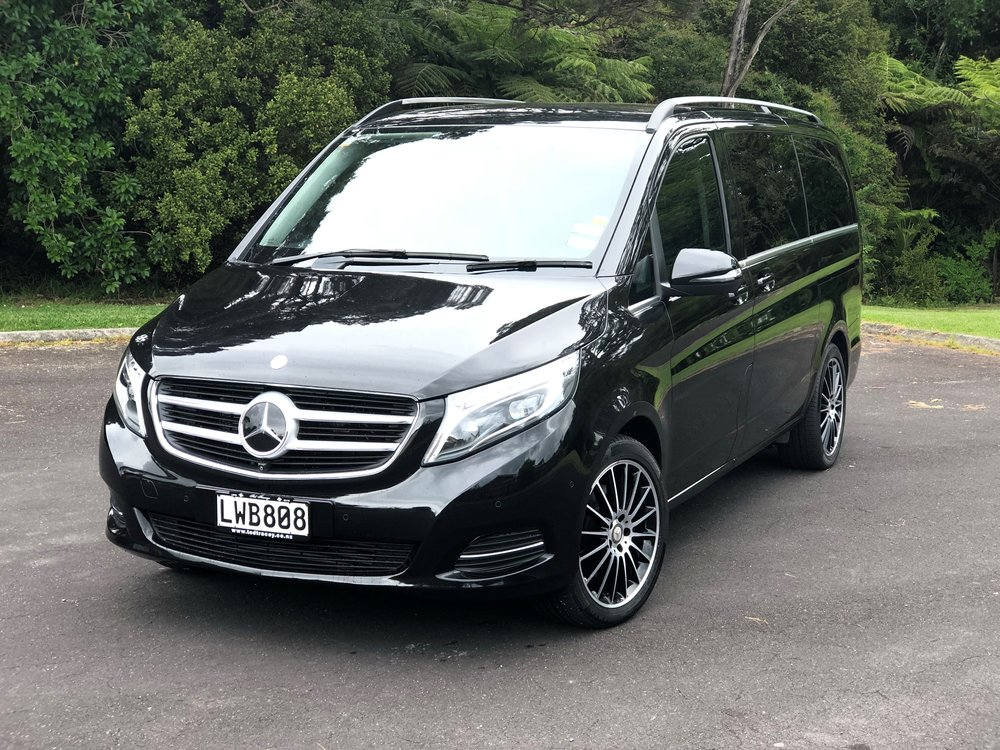 Mercedes V250 7-passenger luxury minivan