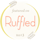 Featured on Ruffled Blog - English Countryside Wedding Inspiration