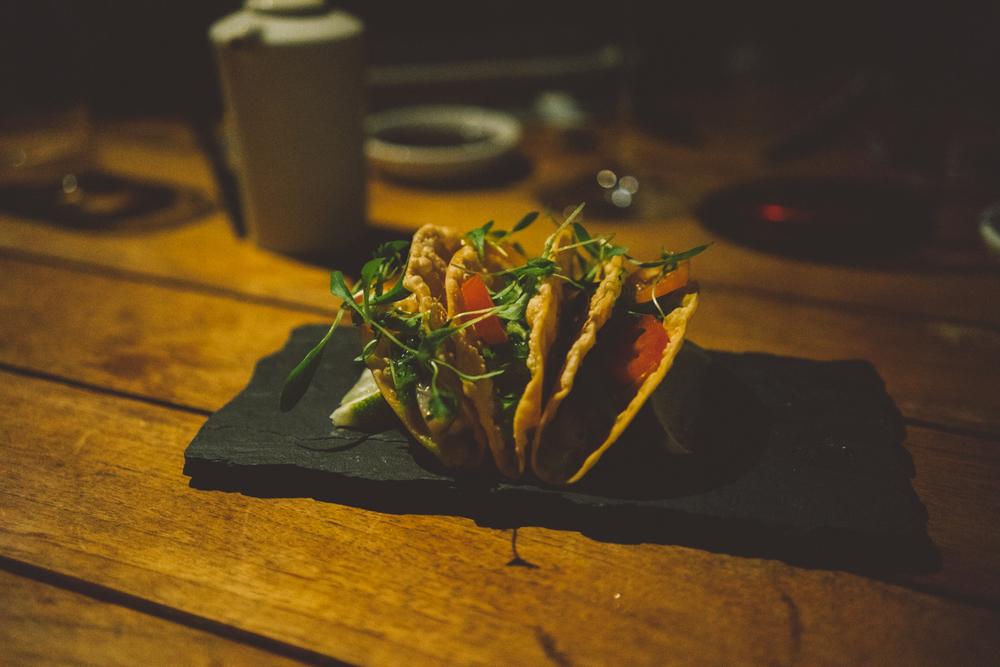 Hamachi Tacos