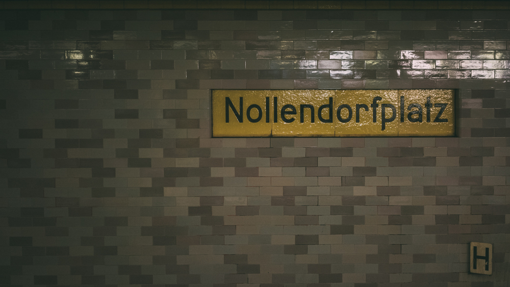 Nollendorfplatz - Great name