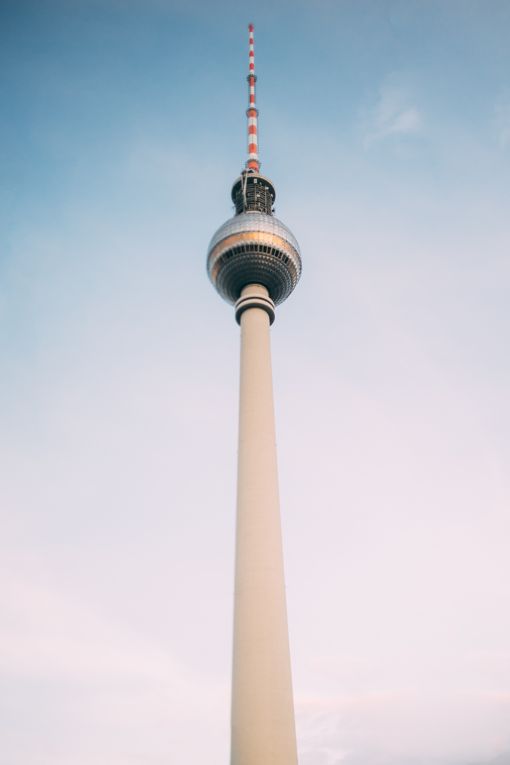 TV tower Tilt Shift
