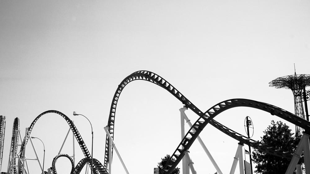 Roller Coaster. Ektar 100  Fuji GW690III.