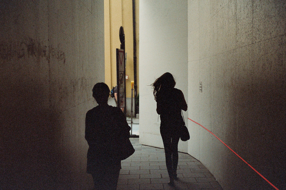 Corridors.  Leica M6 TTL w/ 50mm Cron Version III.