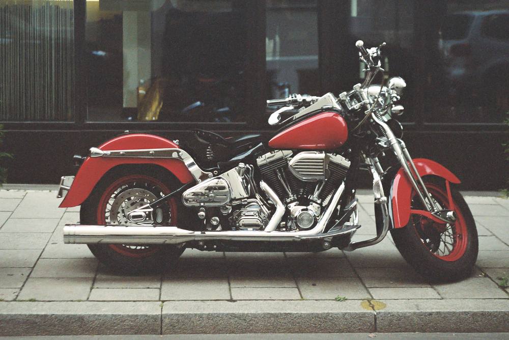 Custom Harley. Leica M6 TTL w/ 50mm Cron Version III.