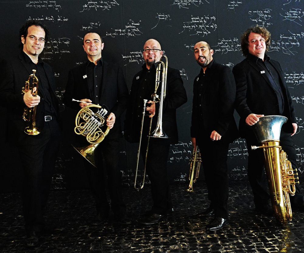 SPANISH BRASS                                                               SAT, JAN 21