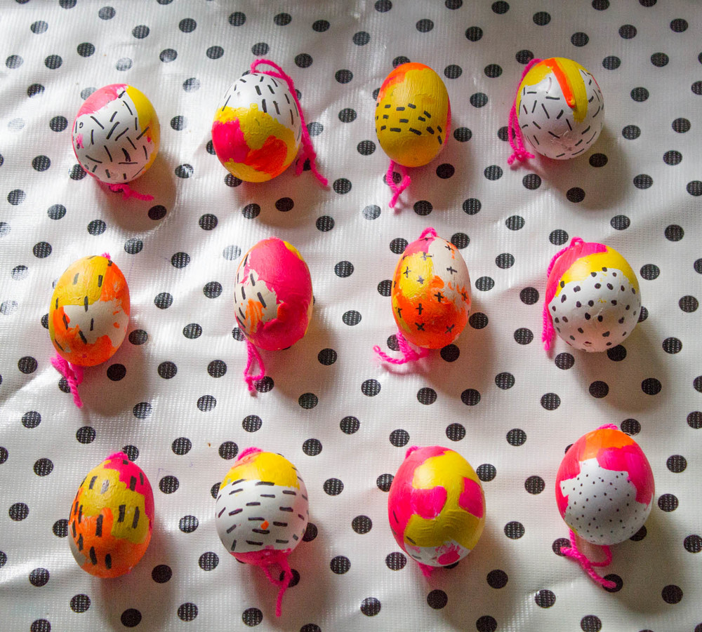 Our painted eggs