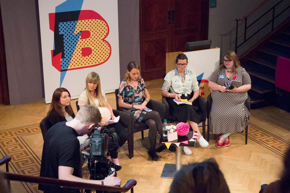 Blogtacular panel of the editors