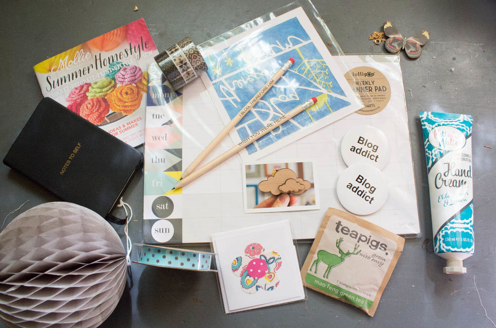 Blogtacular goody bag