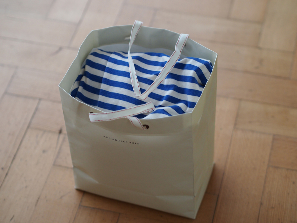 A lovely bag of second hand maternity clothes from my friend Lien - Thank you so much Lien!