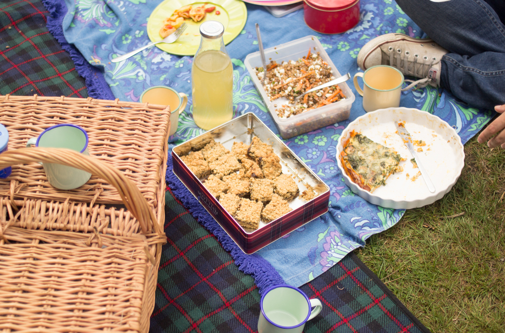 Picnic in Joydens Wood