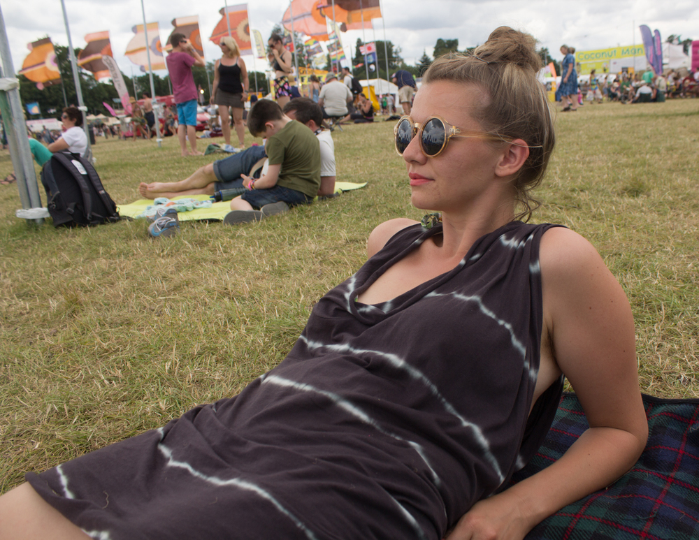 Hannah at womad