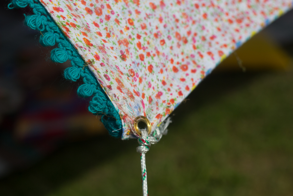 DIY shade sail