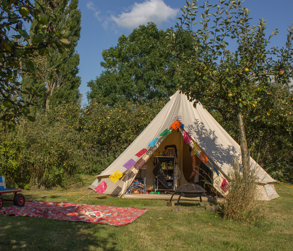 bell tent living