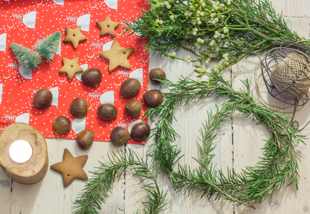 Easy DIY Christmas crafting | Seeds and Stitches blog