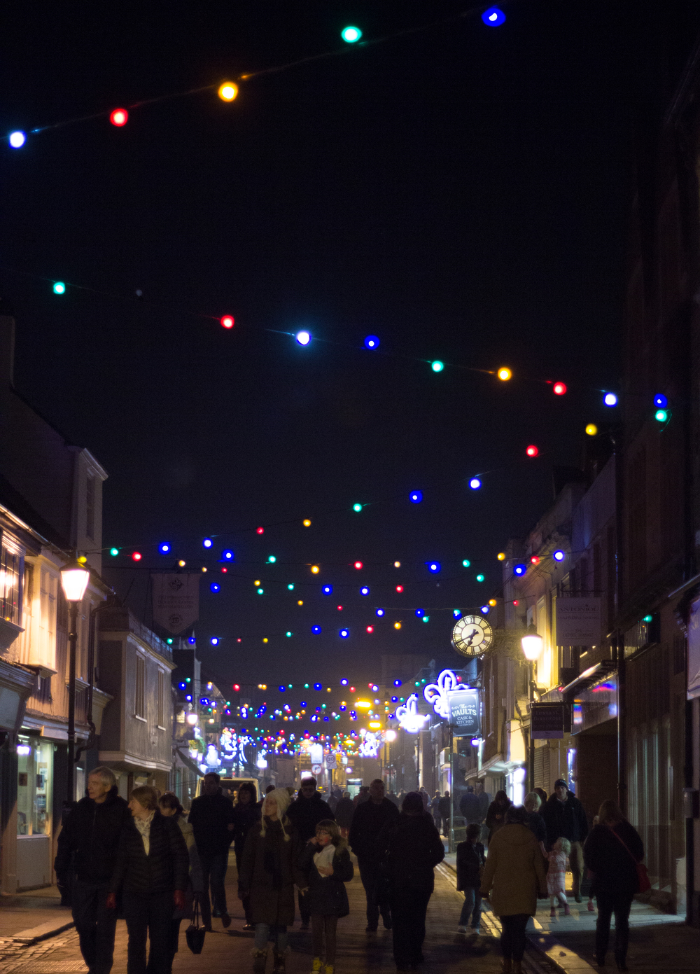 Faversham Christmas lights switch on