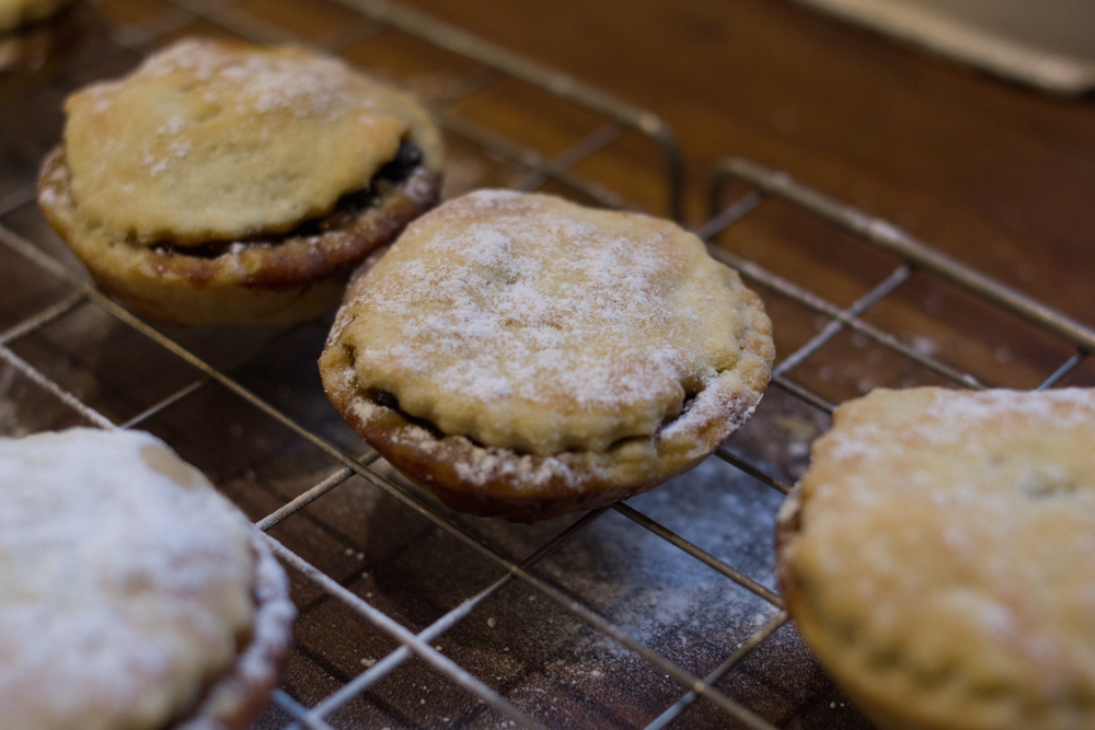 Dad's homemade mince pies