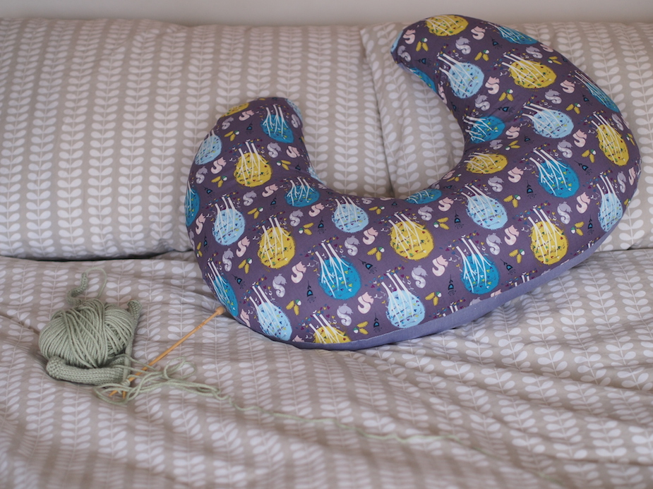 New Cover for Breastfeeding Pillow