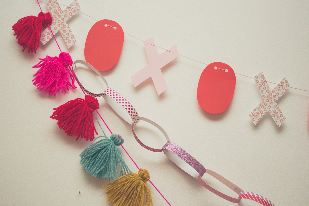 Galentines or Valentines decoration DIY's | Seeds and Stitches blog