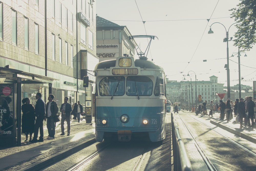 Gothenburg Tram | Seeds and Stitches