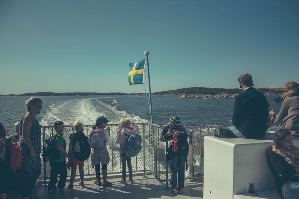 Visiting the archipelago by boat, Gothenburg | Seeds and Stitches blog