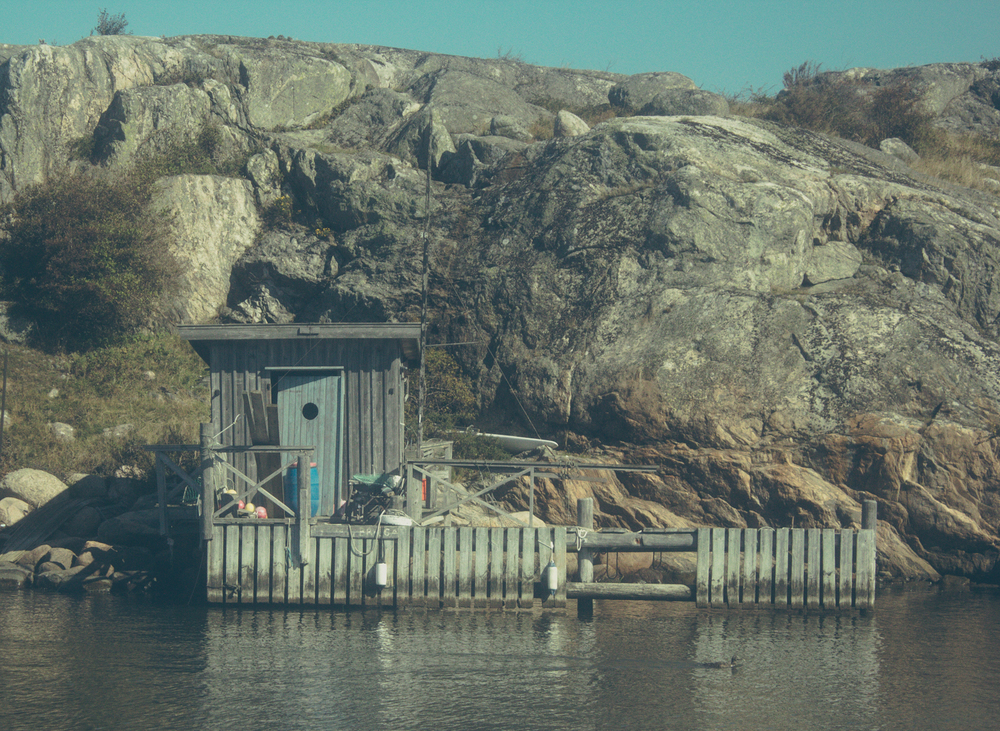 Swedish fishing cabin, visiting the archipelago by boat, Gothenburg | Seeds and Stitches blog