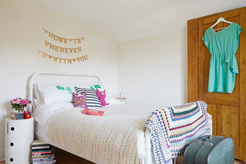 Zoe Pearson's cool, contemporary South East London flat. Styled by Hannah Bullivant shot by kristy Noble