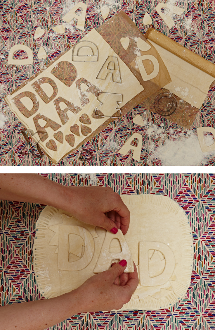 Dad Pie, fathers Day idea | Seeds and Stitches blog