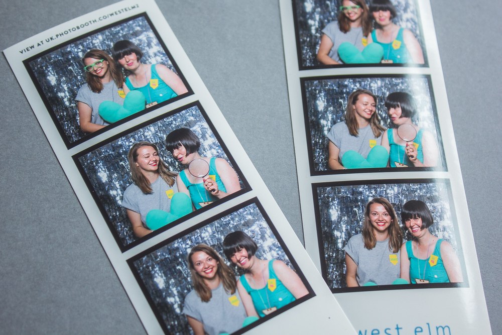 West Elm Photo Booth at Blogtacular | Seeds and Stitches blog