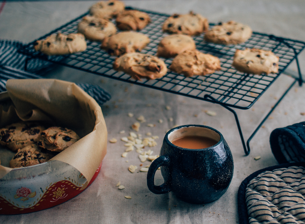 Cashew Chocolate Cookies | Seeds and Stitches blog