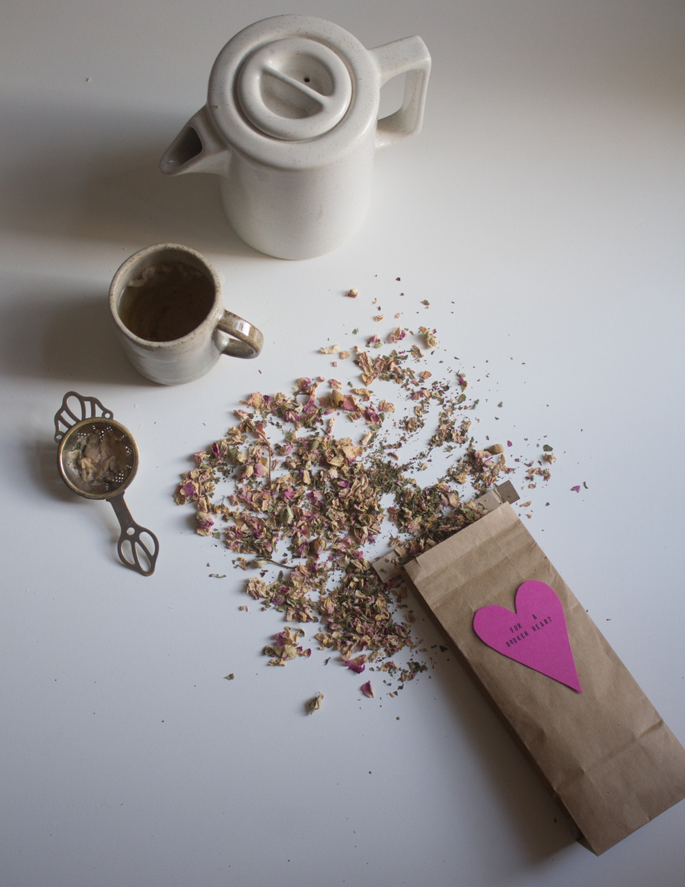 Tea for a broken heart.... on grief | Seeds and Stitches blog