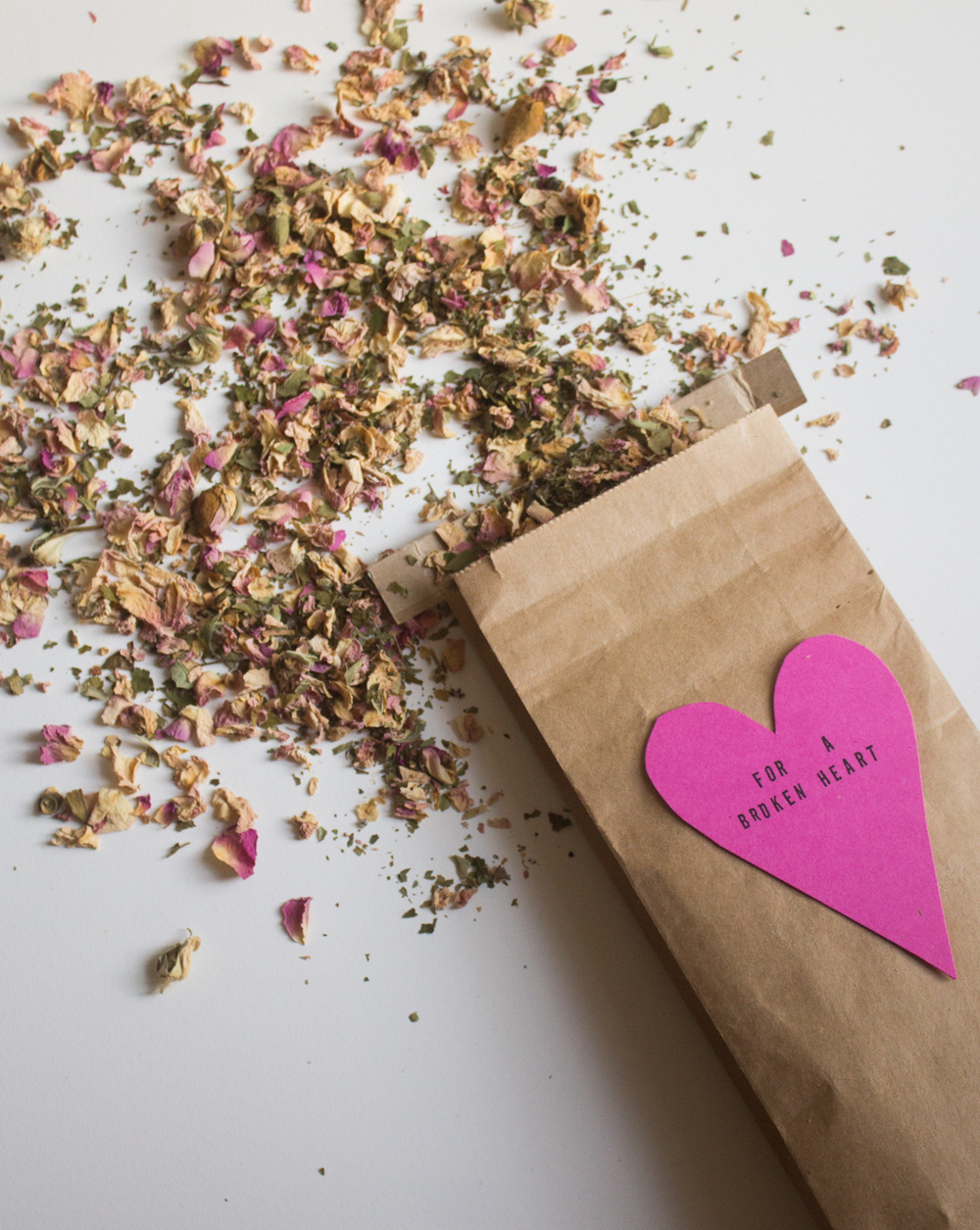 Potion for a broken heart | Seeds and Stitches blog