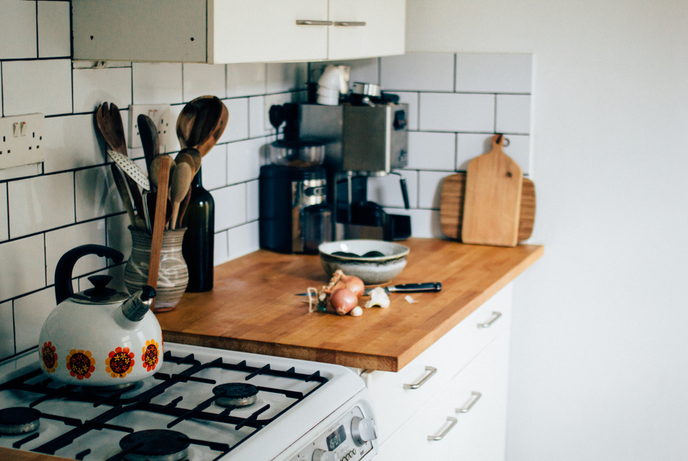 Super budget rental kitchen makeover | Seeds and Stitches blog