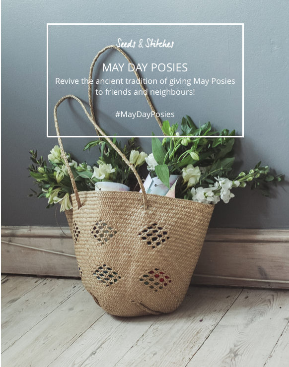 May Day Posies | Seeds and Stitches blog