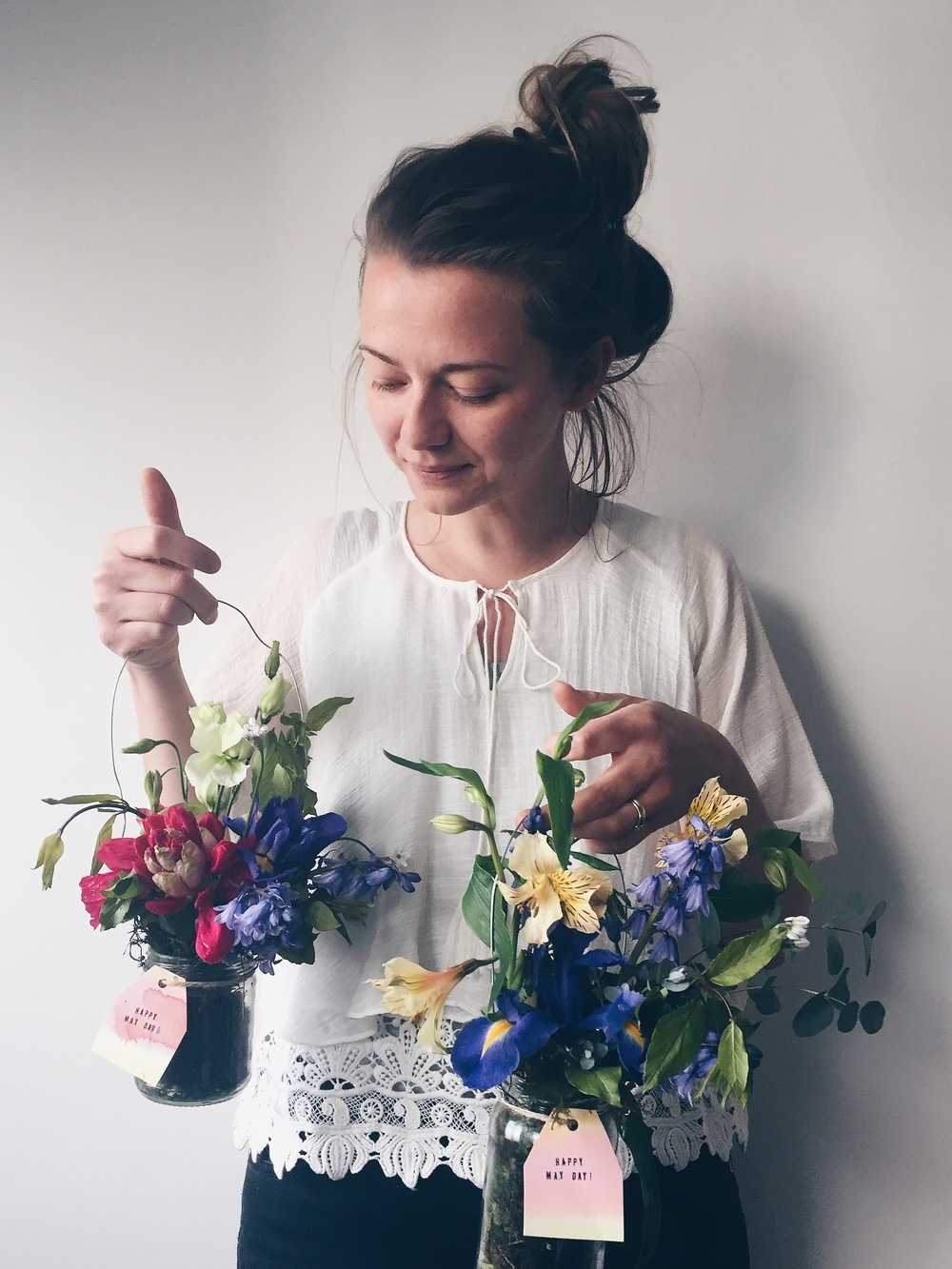 May Day Posies 2016 | Seeds and Stitches blog