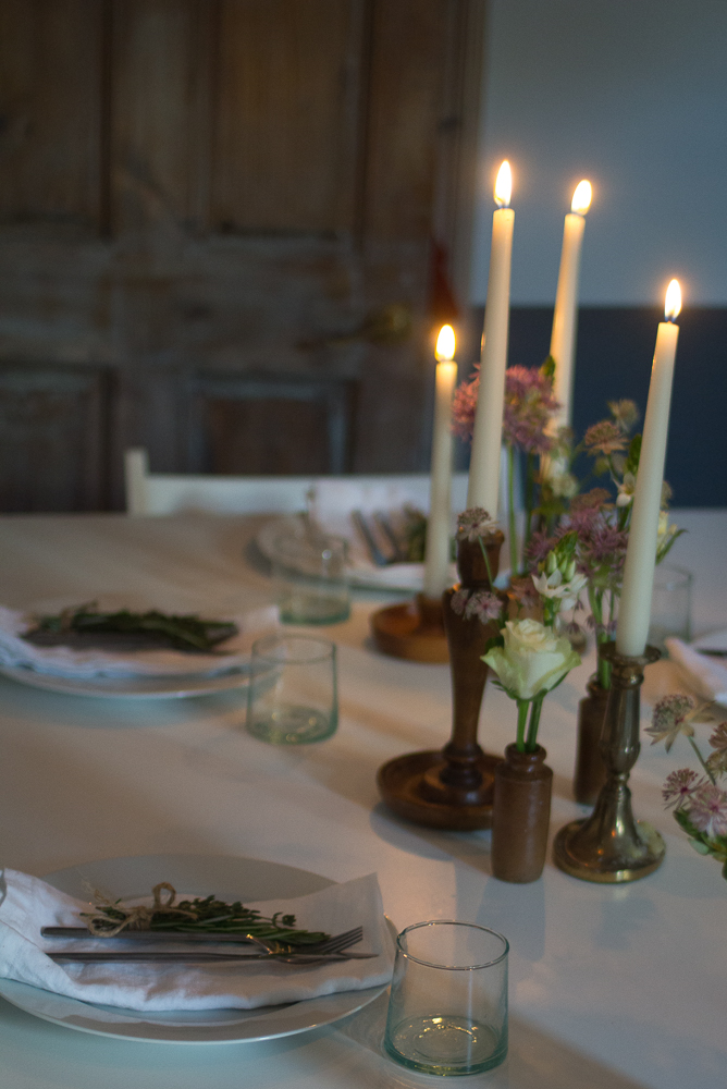 Solstice Dinner Party | Seeds and Stitches blog