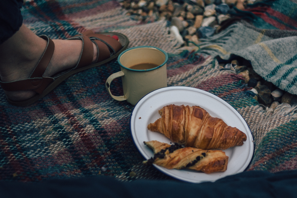 Whitstable Beach Breakfast | Seeds and Stitches blog