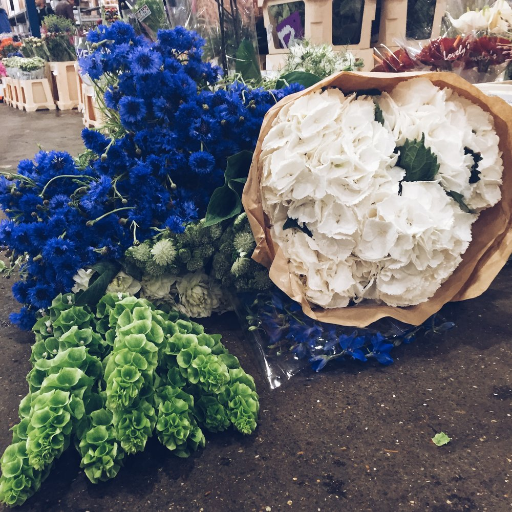 My shopping tips for New Covent Garden Flower Market