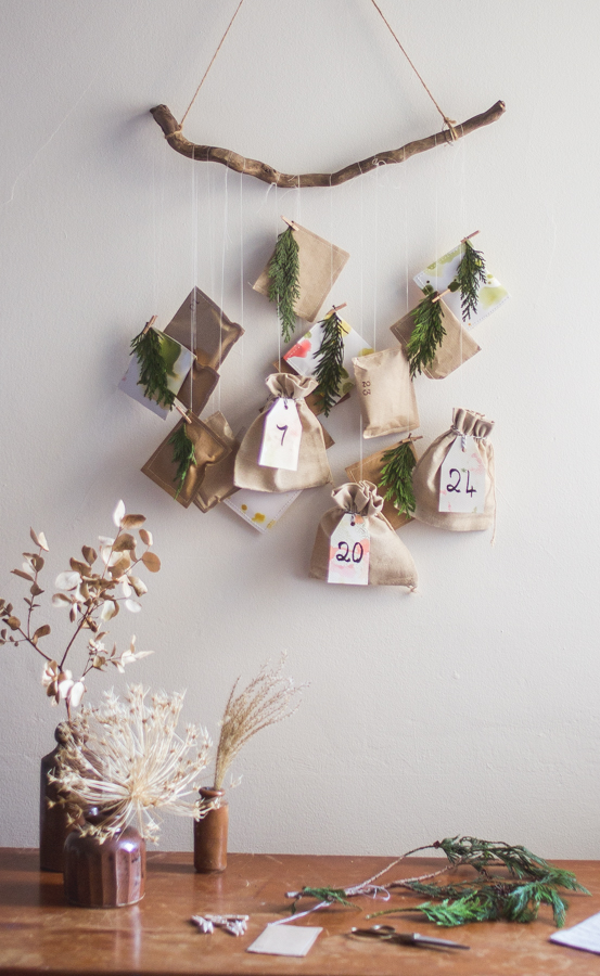 Simple experience based advent calendar | Seeds and Stitches blog