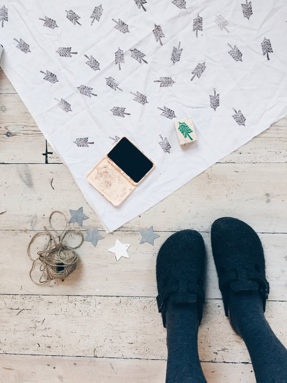 Fabric wrapping inspiration | Seeds and Stitches blog