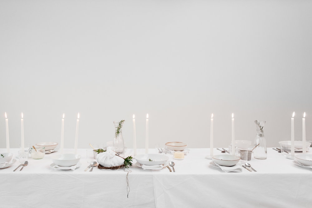 I loved styling this. I wanted to keep things very white and very simple with just the barest hint of green, and I am so pleased with how it turned out.